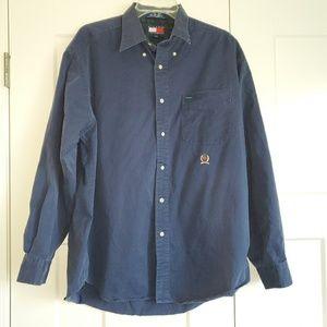 Men's Vintage 90's Tommy Hilfiger Button Up Shirt